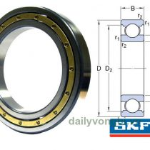 Vòng bi bạc đạn SKF 6072M